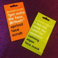 ANATOMICALS – Face Masks – Apricot Face Scrub & Calming Algae Face Mask - PR
