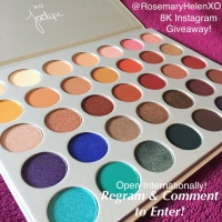 MY 8K INSTAGRAM FOLLOWERS MORPHE PALETTE GIVEAWAY! *WIN THE JACLYN HILL EYE-SHADOW PALETTE!!*