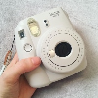 Fujifilm Camera -  Instax Mini 9 - Smokey White - Early Birthday Present! Yay!