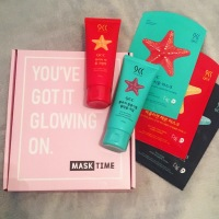Mask Time - South Korean Subscription Box - You Got It Glowing On – PR {PAID}